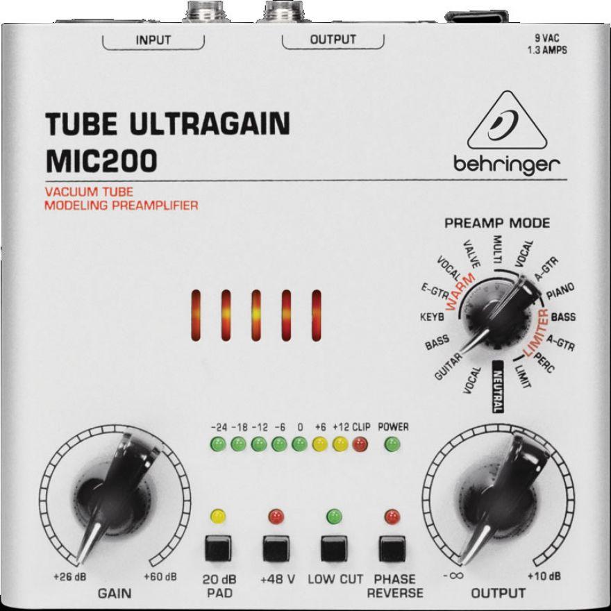 0-BEHRINGER MIC200 Tube Ult