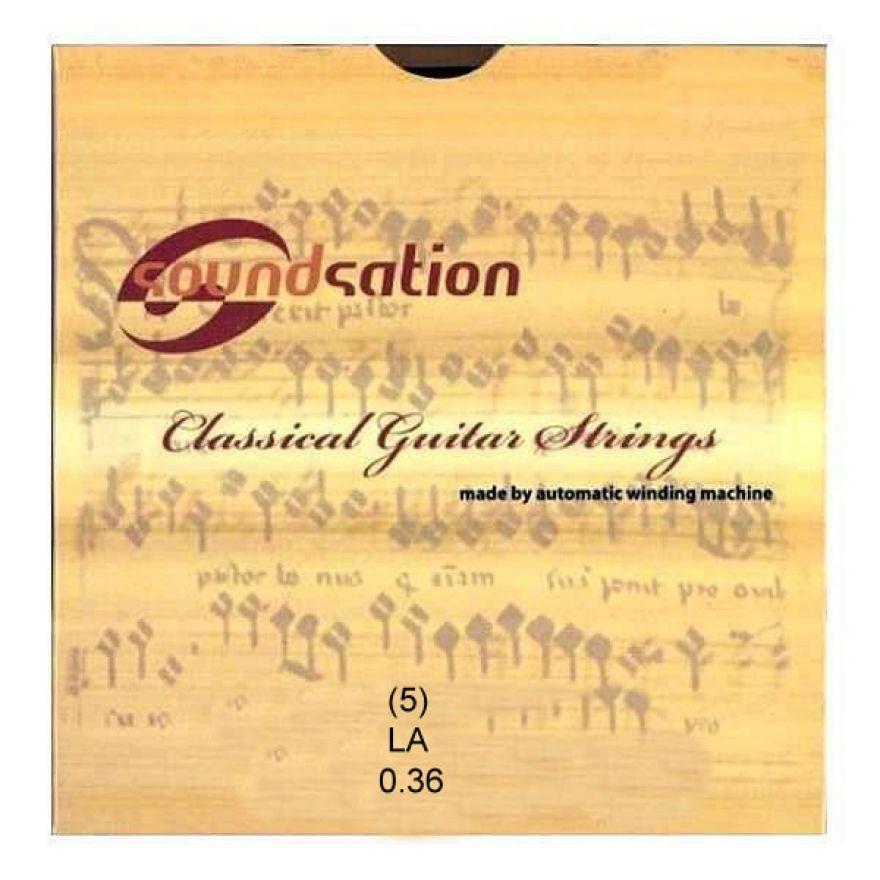 SOUNDSATION SC133-5 - Singola per classica LA (5)