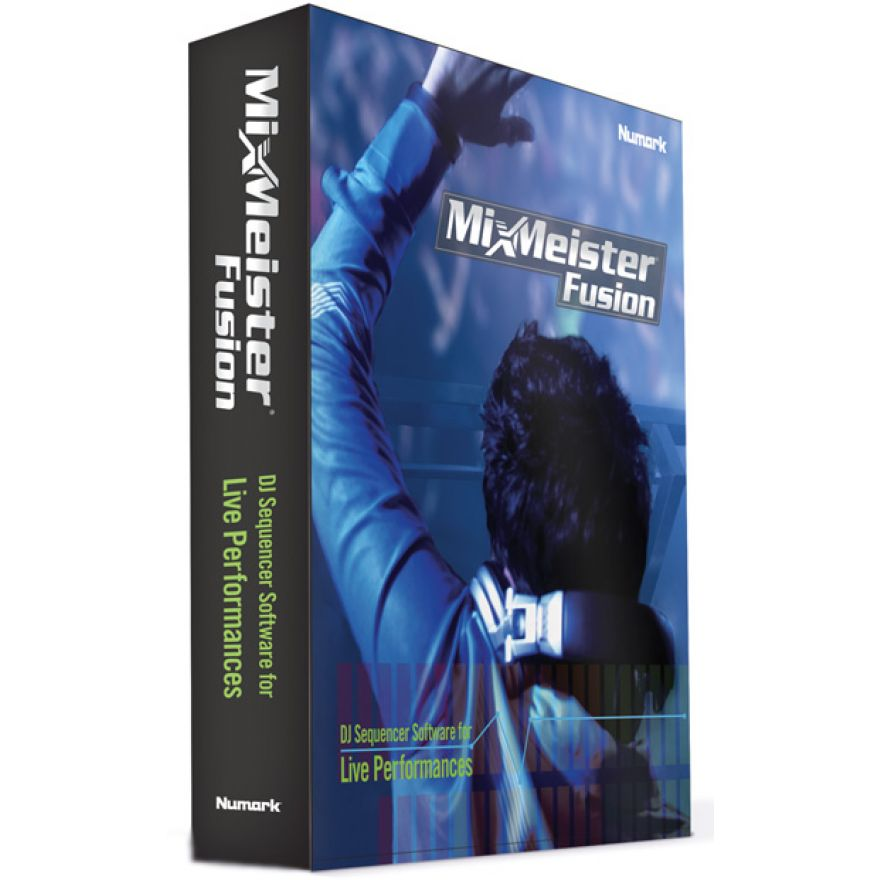 NUMARK MIXMEISTER FUSION - SOFTWARE PER IL MONTAGGIO AUDIO ...