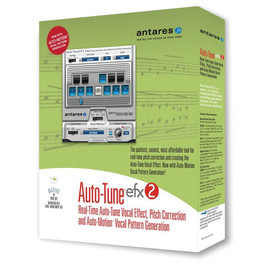 ANTARES Auto Tune EFX 2