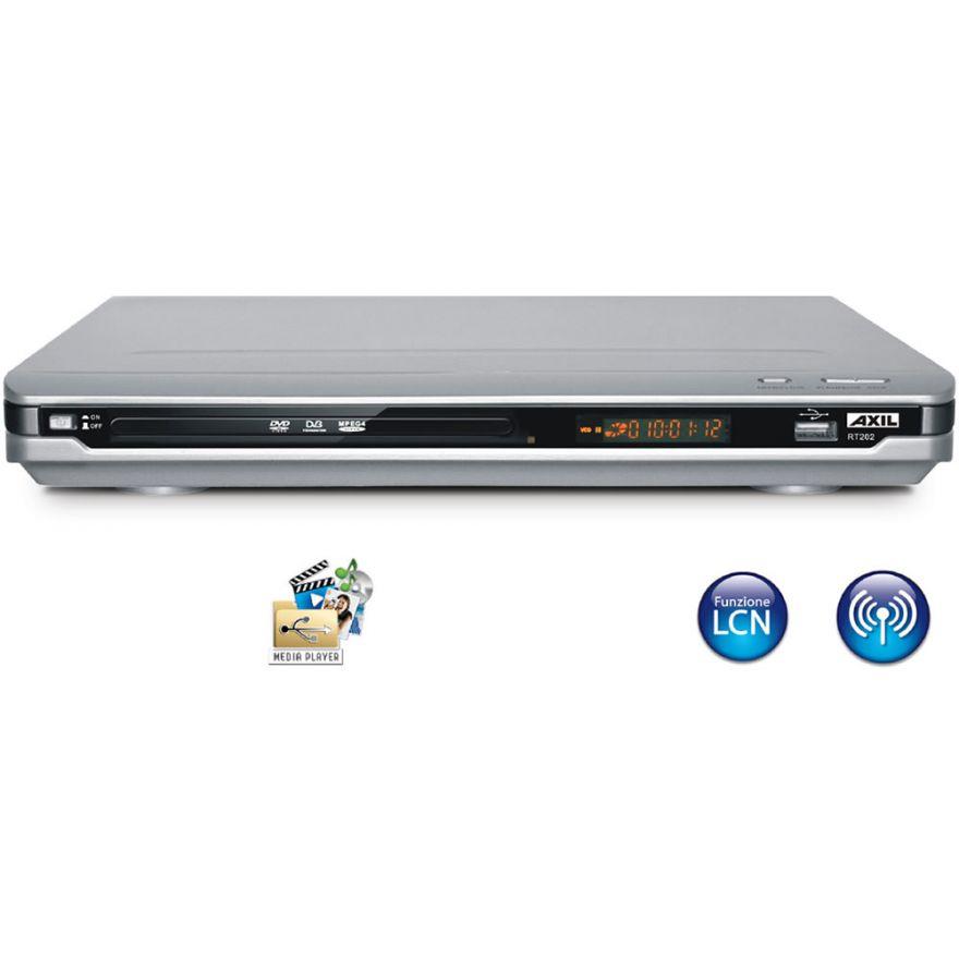 ENGEL AXIL RT0202 - RICEVITORE DIGITALE TERRESTRE + DVD
