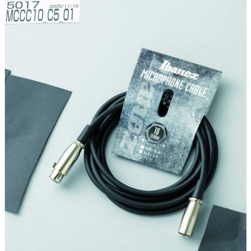 Ibanez MCCC20 - cavo  XLR - 6,10m - nero