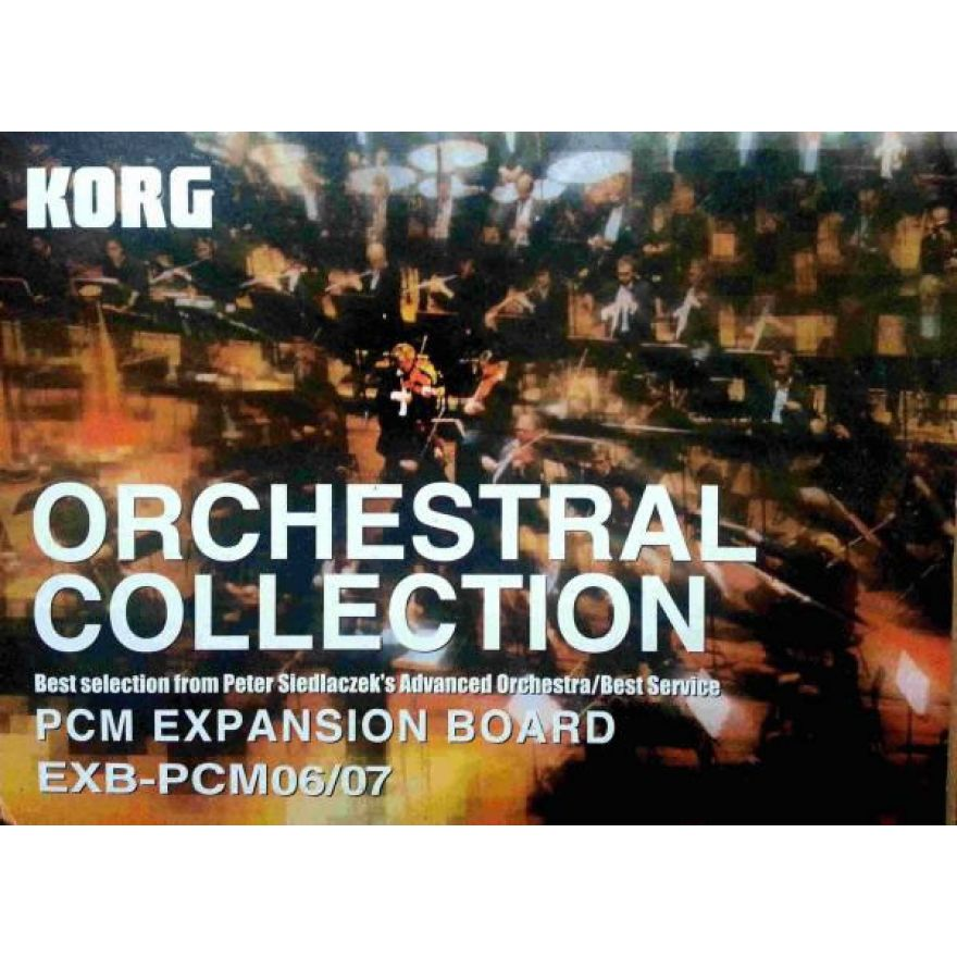 KORG EXB PCM 06/07 - ORCHESTRAL COLLECTION