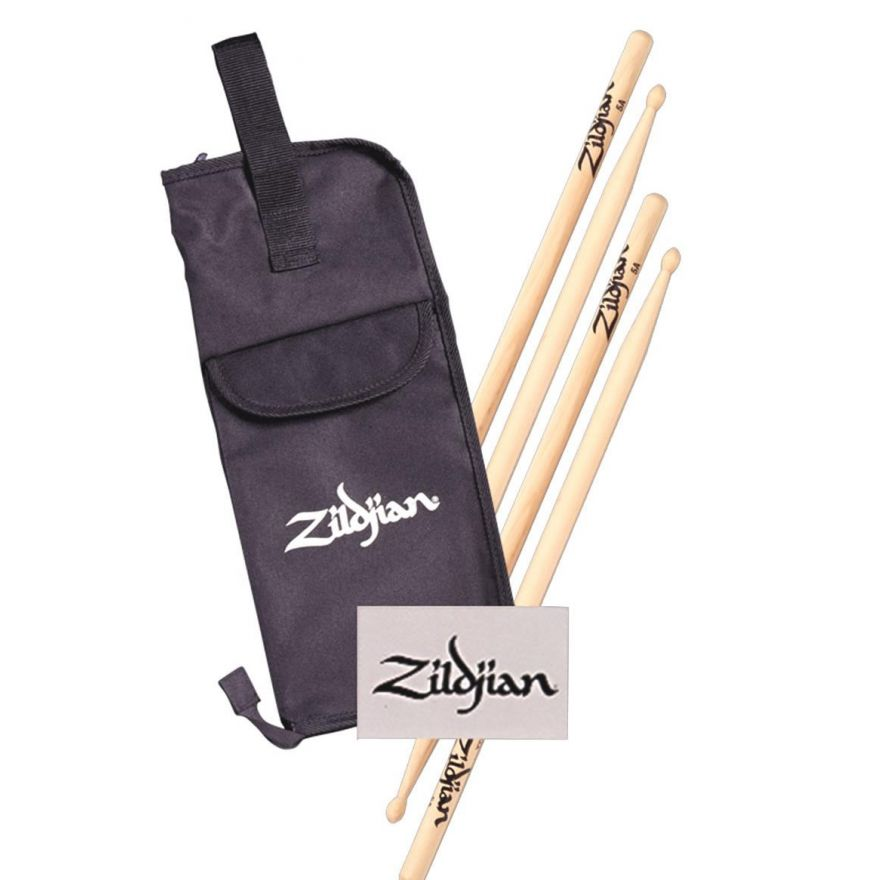 ZILDJIAN SDSP227-5BWN - Kit Borsa + bacchette