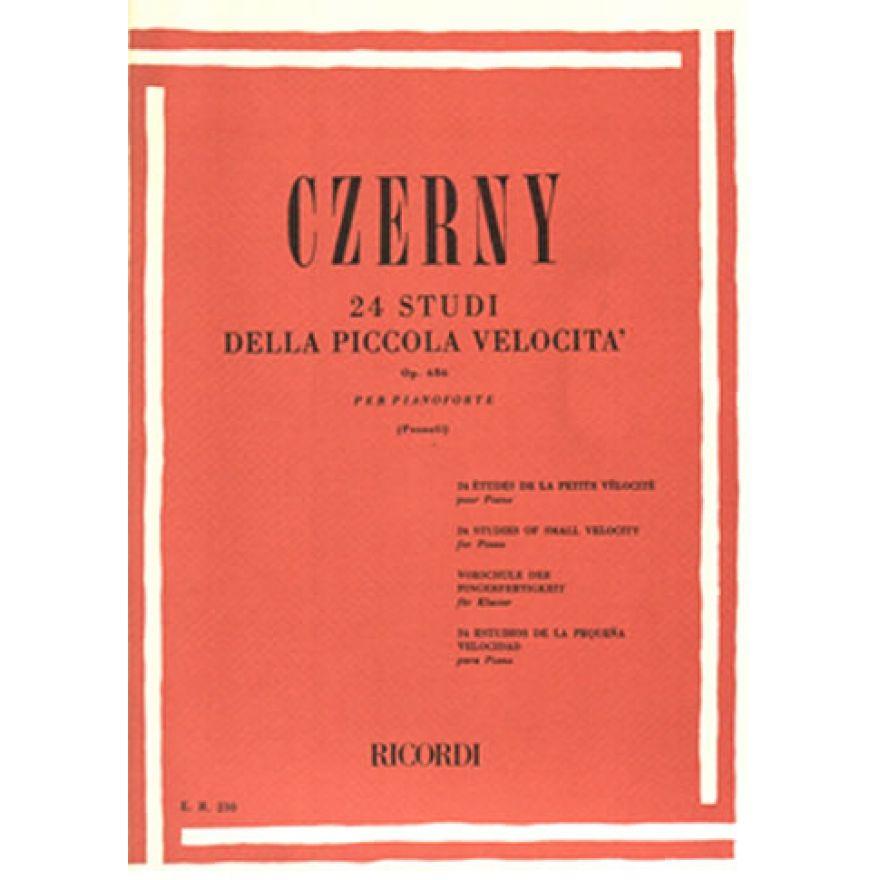 RICORDI Czerny, Carl - 24 STUDI DELLA PICCOLA VELOCITA Op.636