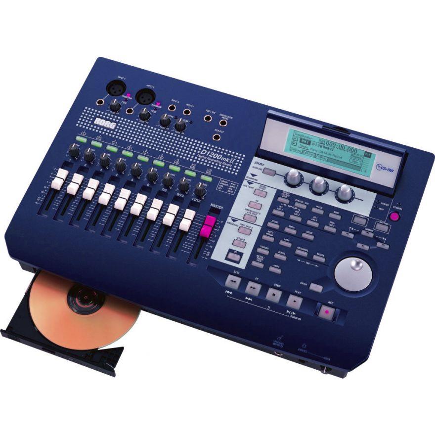 KORG D1200MKII - REGISTRATORE DIGITALE 12 TRACCE CON CD-RW