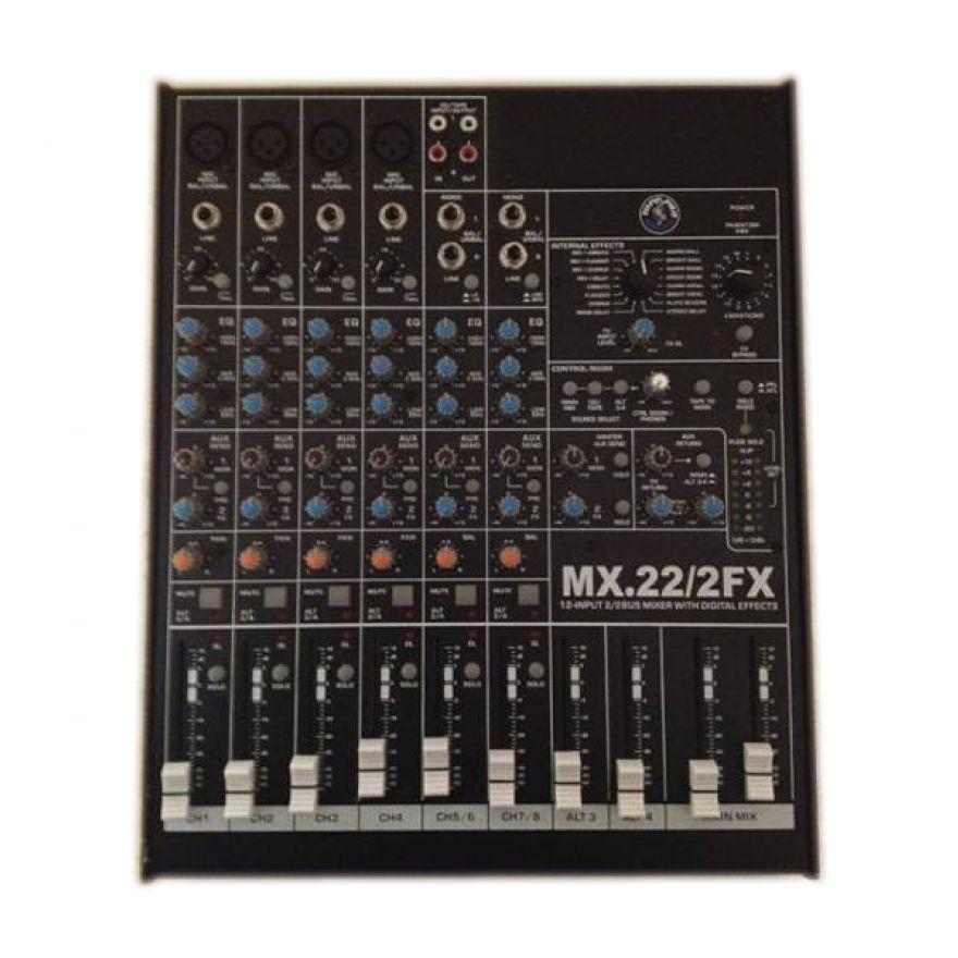 Topp Pro MIX22-2 FX Mixer con effetti