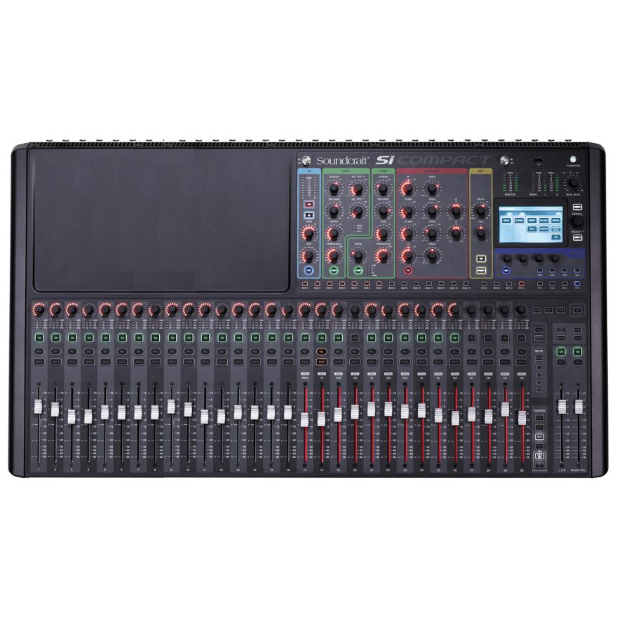 SOUNDCRAFT Si Compact 32 - MIXER DIGITALE 32 IN MONO - 4 STEREO