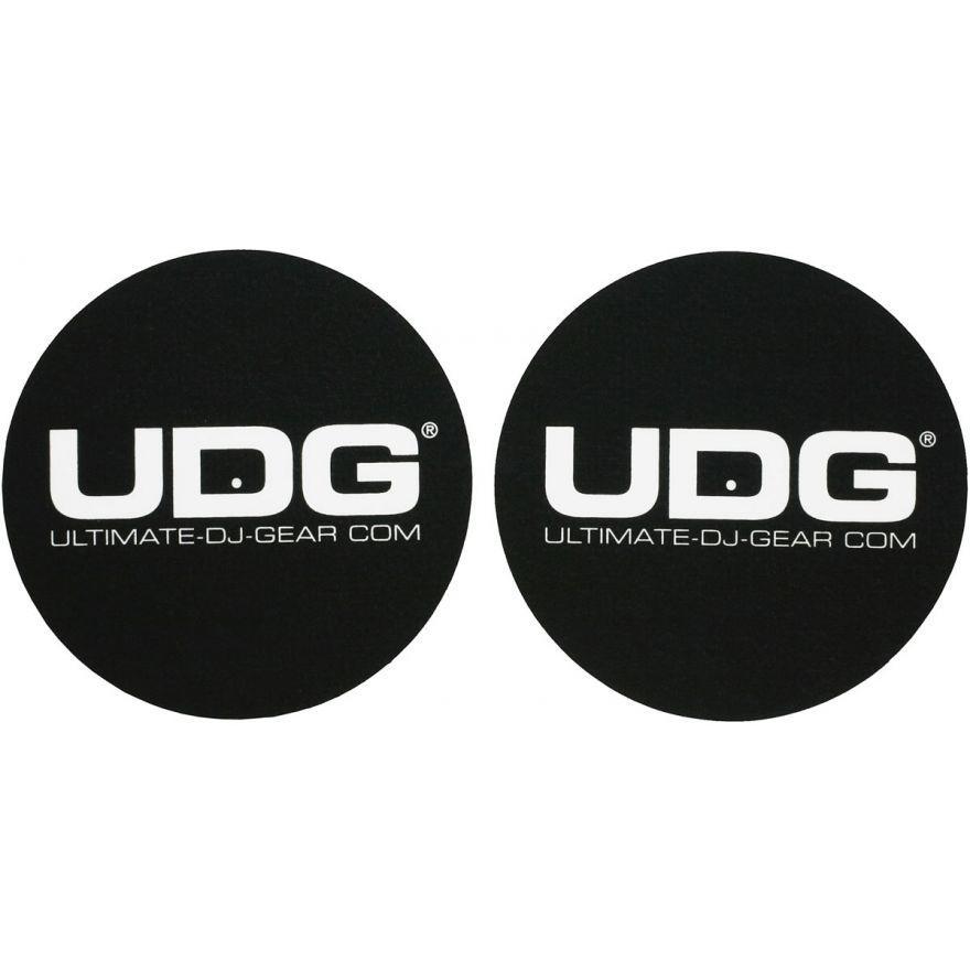 UDG U9931 BLACK/WHITE - COPPIA DI FELTRI PER GIRADISCHI