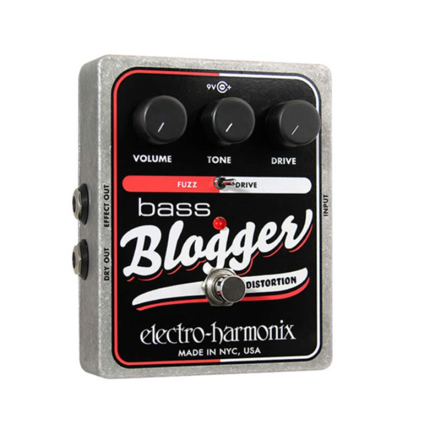 ELECTRO HARMONIX BASS BLOGGER -PEDALE PER BASSO FUZZ/DISTORSION