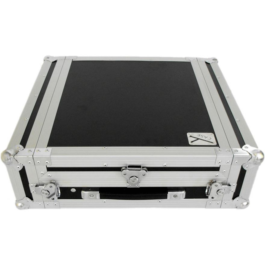 Y-CASE 2MR - FLIGHT CASE RACK 2U + MIXER