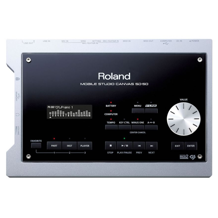 ROLAND SD50 Mobile Studio Canvas