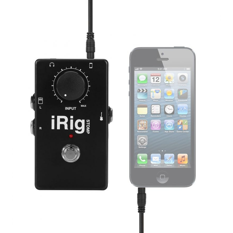 0-IK MULTIMEDIA iRig STOMP