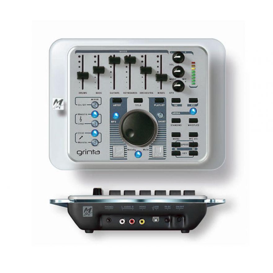 M-LIVE GRINTA GOLD -LEGGE/SUONA FILE MUSICALI MIDI/MP3 + 424Basi