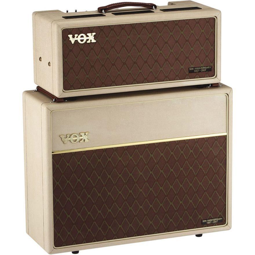 VOX AC30HH + V212H - TESTATA VALVOLARE + CABINET PER CHITARRA