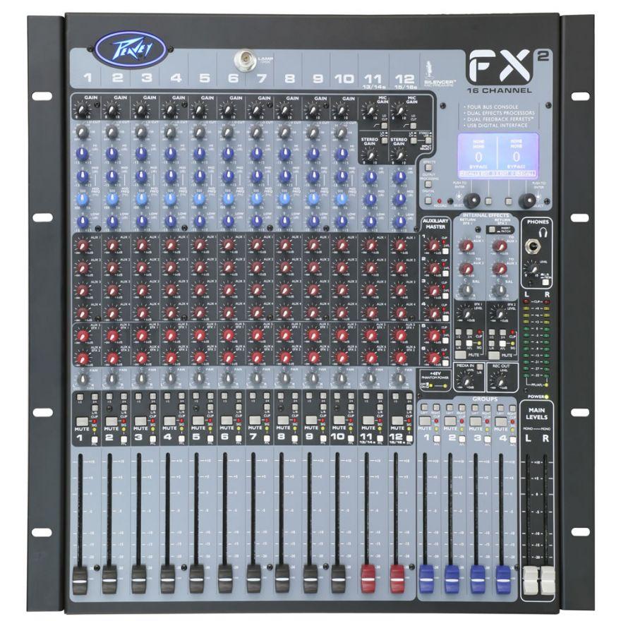 PEAVEY FX2 16 - MIXER 16 CANALI CON EFFETTI