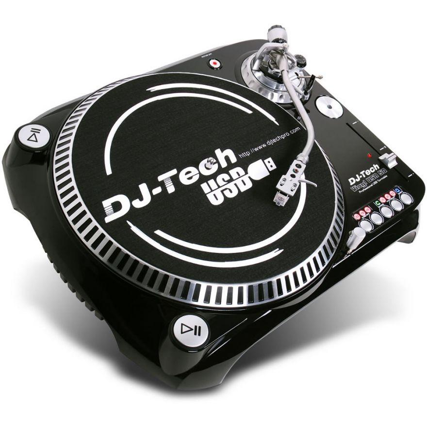 DJ TECH VINYL USB 50 - GIRADISCHI CON USCITA USB