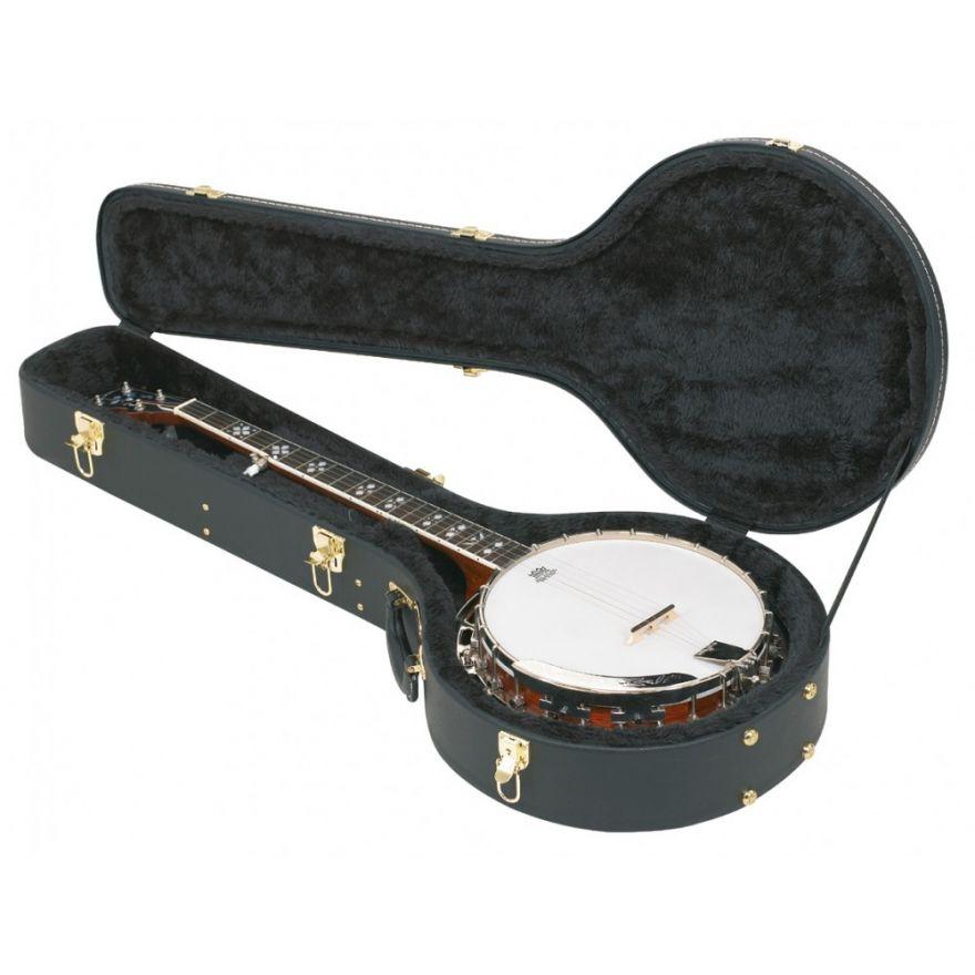 ROCKCASE RC10710B/SB DL Banjo Black Tolex