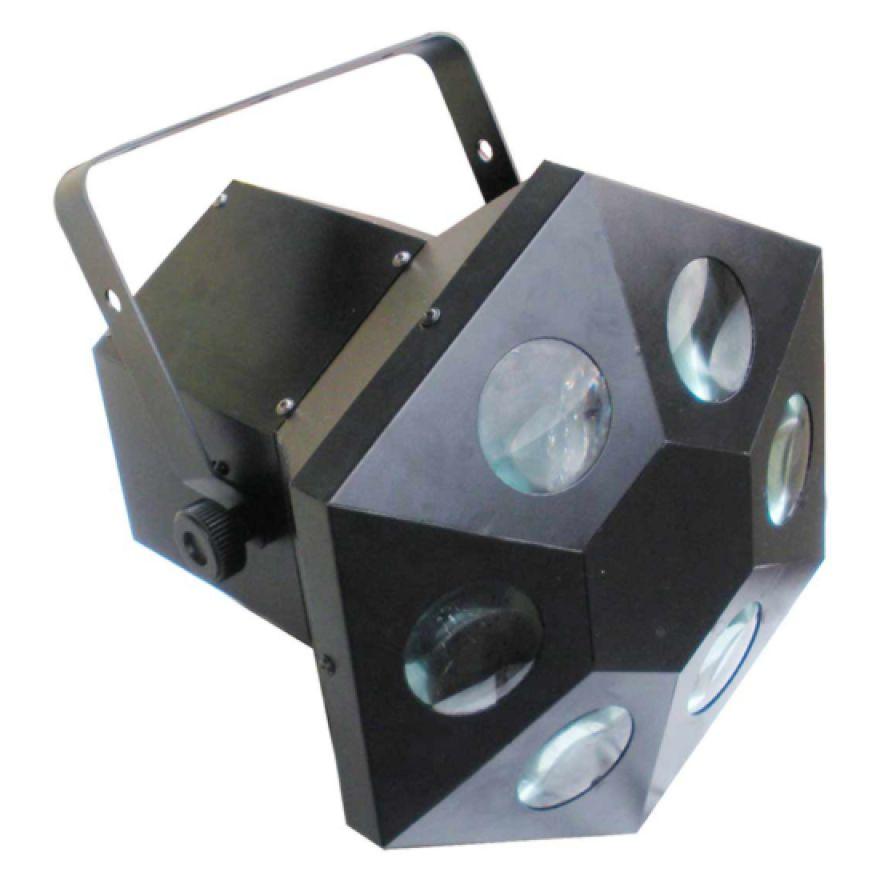 KARMA DJ LED204 - EFFETTO MOON FLOWER - 6 lenti 165 leds da 5mm