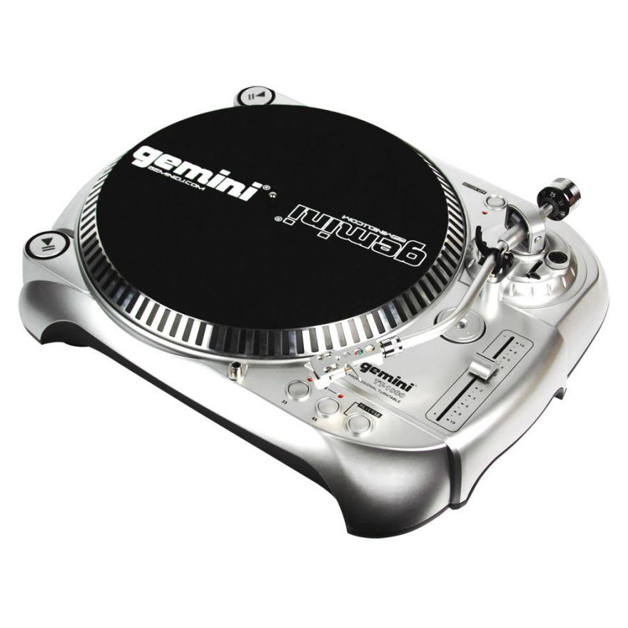 GEMINI TT1000 - GIRADISCHI PER DJ TRAZIONE A CINGHIA