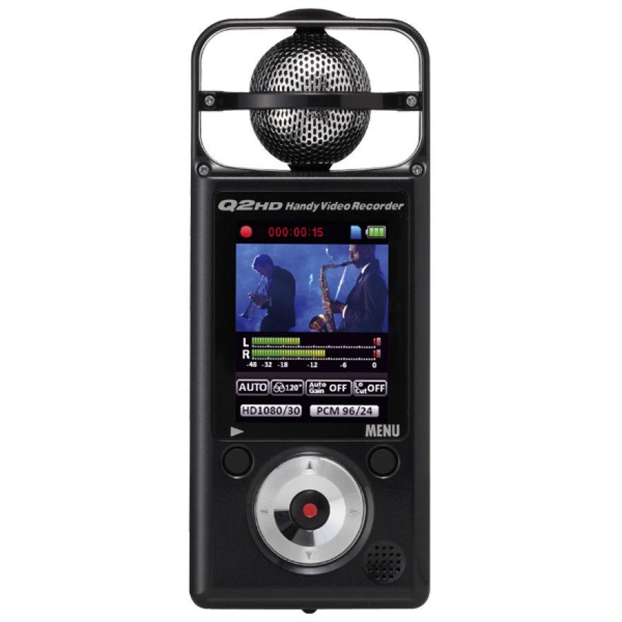 ZOOM Q2HD-BK -REGISTRATORE AUDIO/VIDEO DIGITALE + SD 2GB Omaggio