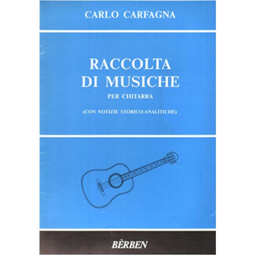 BÉRBEN CARFAGNA Carlo - RACCOLTA DI MUSICHE
