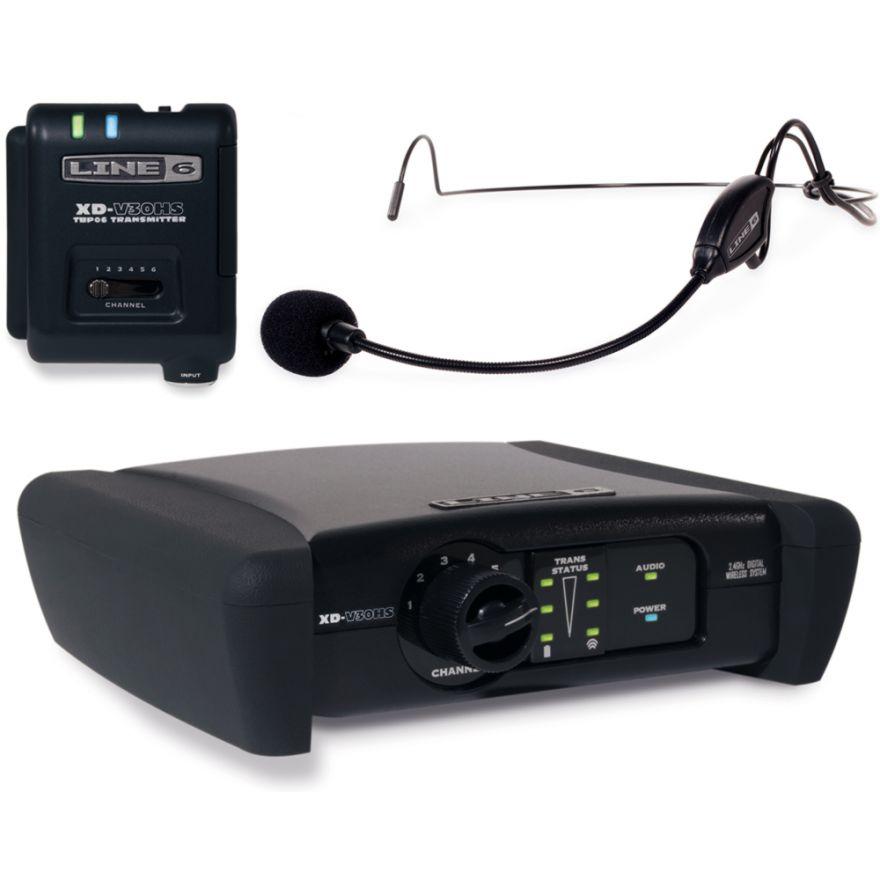 LINE6 XD V30HS - RADIOMICROFONO DIGITALE AD ARCHETTO