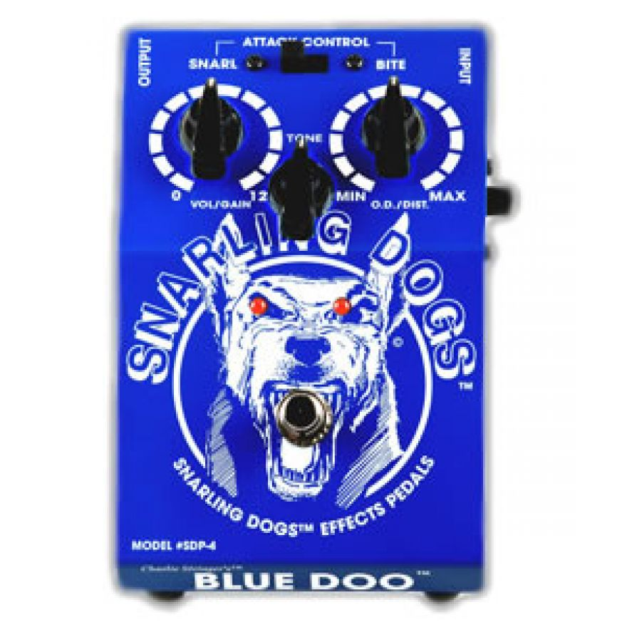 SNARLING DOGS SDP04 BLUE DOO - PEDALE OVERDRIVE/DISTORSORE