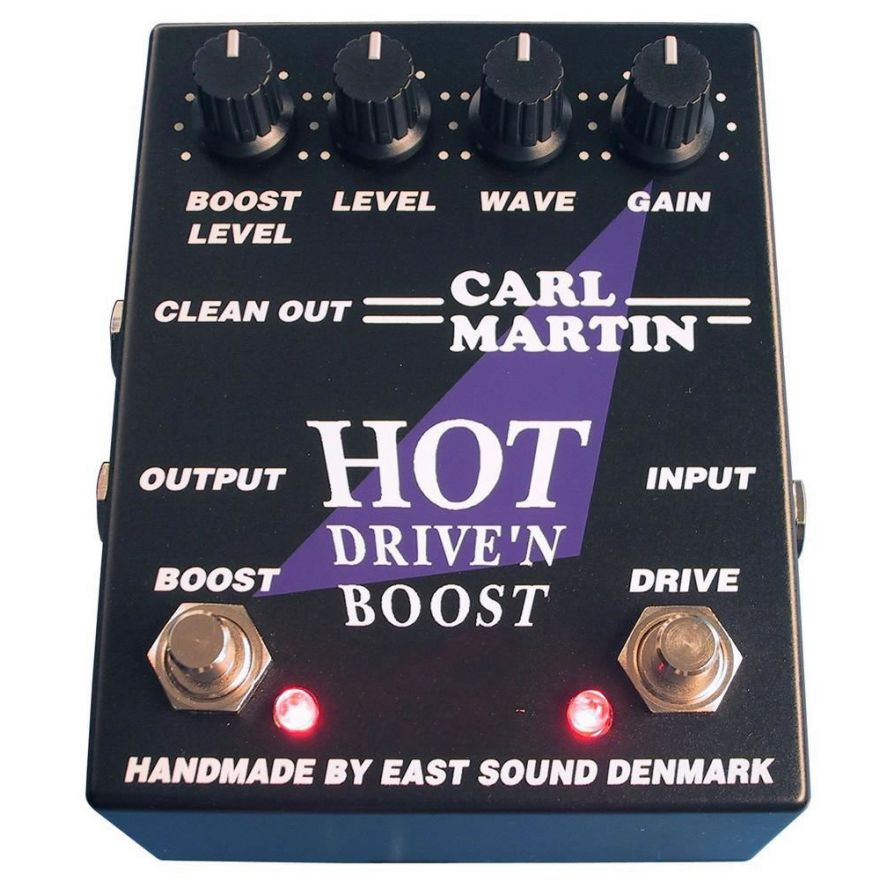 CARL MARTIN HOT DRIVE'N BOOST - OVERDRIVE