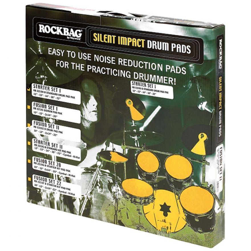 ROCKBAG RB22196B Silent Impact FUSION 20 Starter Kit