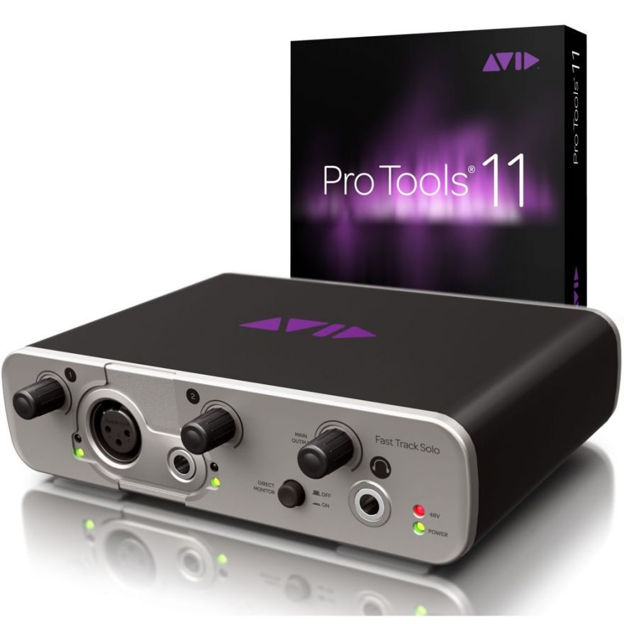 AVID FAST TRACK SOLO + PRO TOOLS 11 FULL