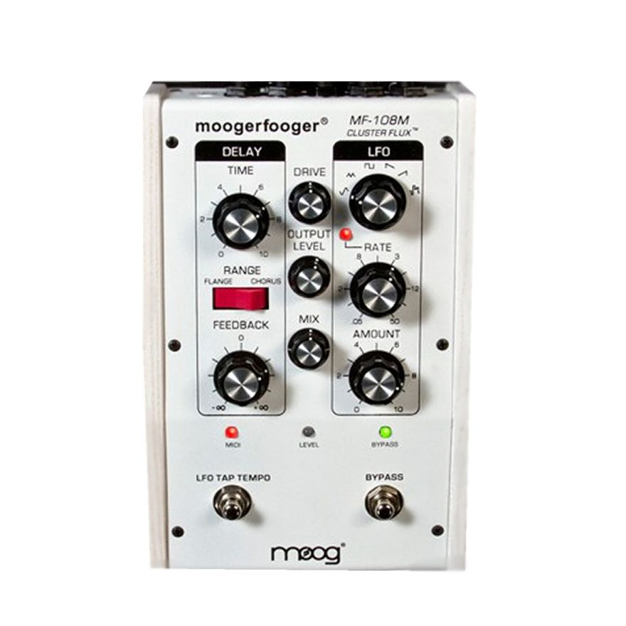 MOOG MF-108 M Cluster Flux White