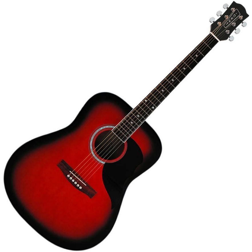 0-EKO RANGER 6 RED SUNBURST