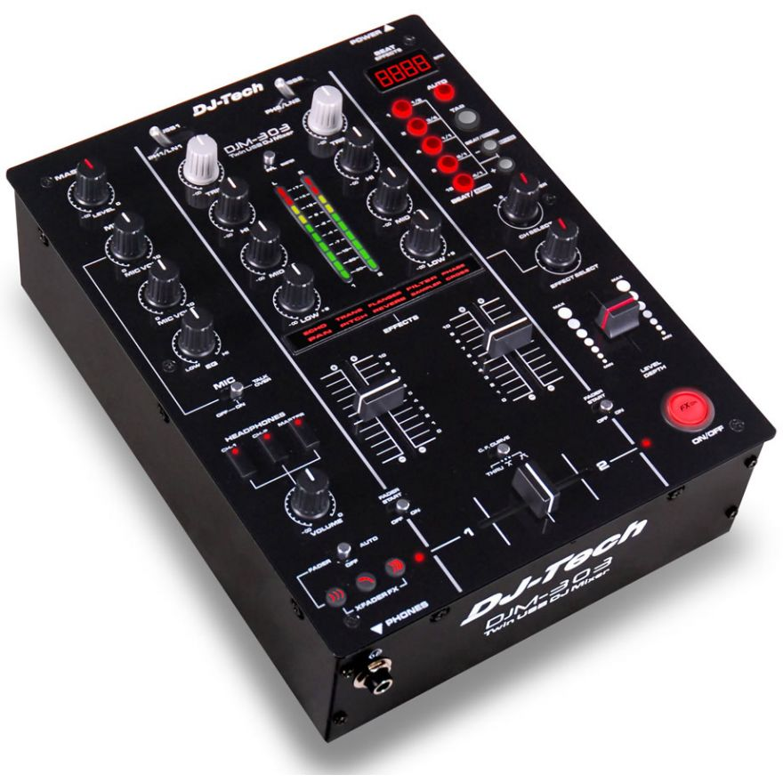 DJ TECH DJM303USB - MIXER PER DJ