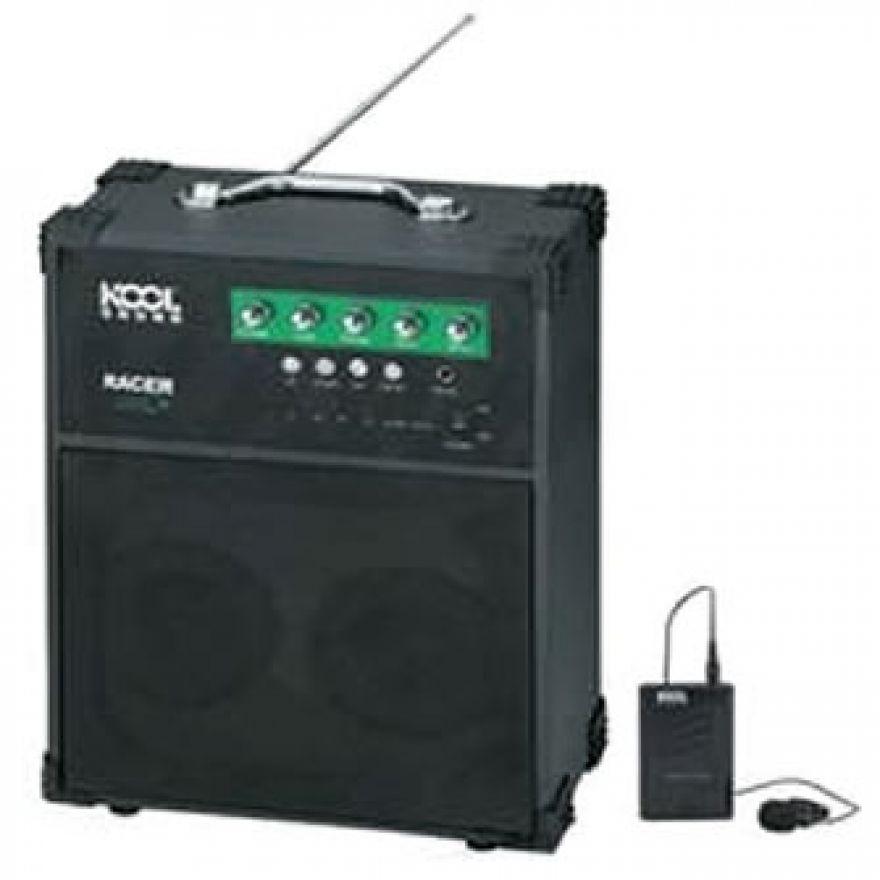 KOOL SOUND RACER - BOX AMPLIFICATO + RADIOMICROFONO VHF + RADIO