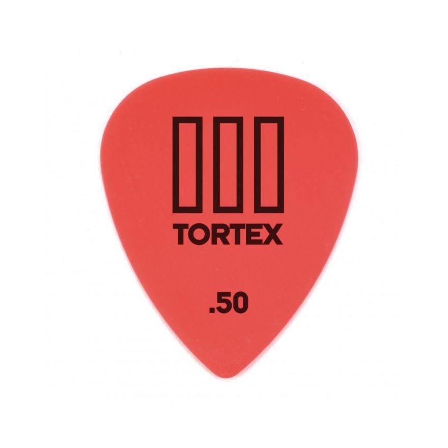 Dunlop 462R Tortex III Red .50