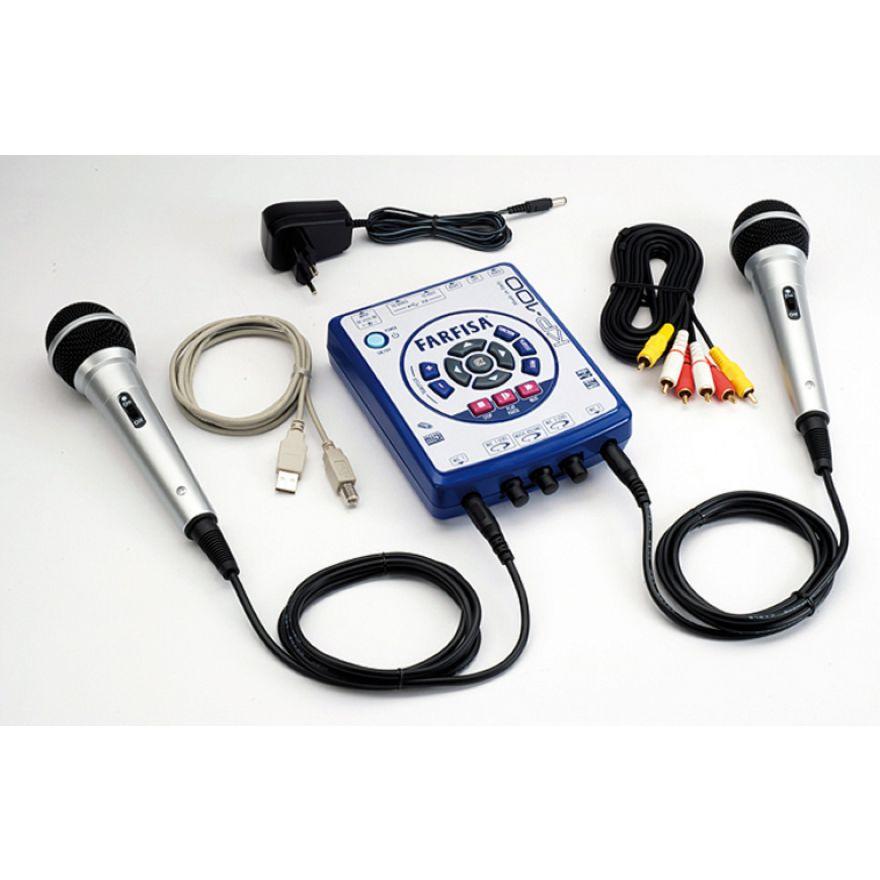 FARFISA KP100 con 2 Microfoni