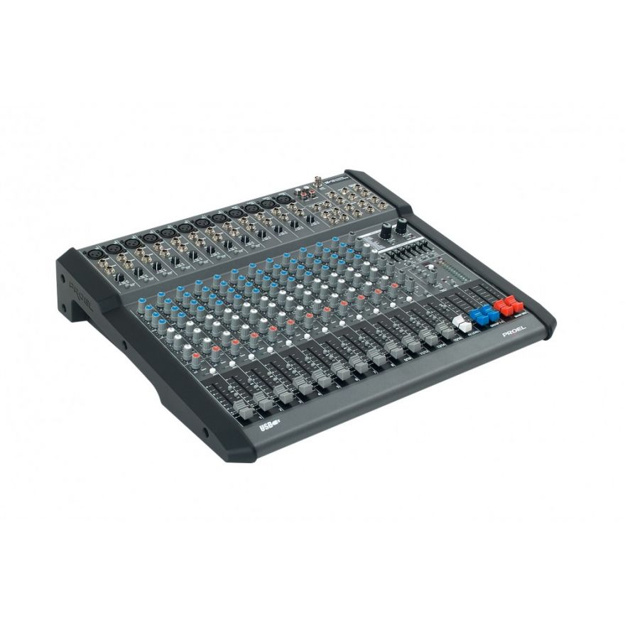 PROEL M16USB - Mixer usb 16 in 2 out con effetti