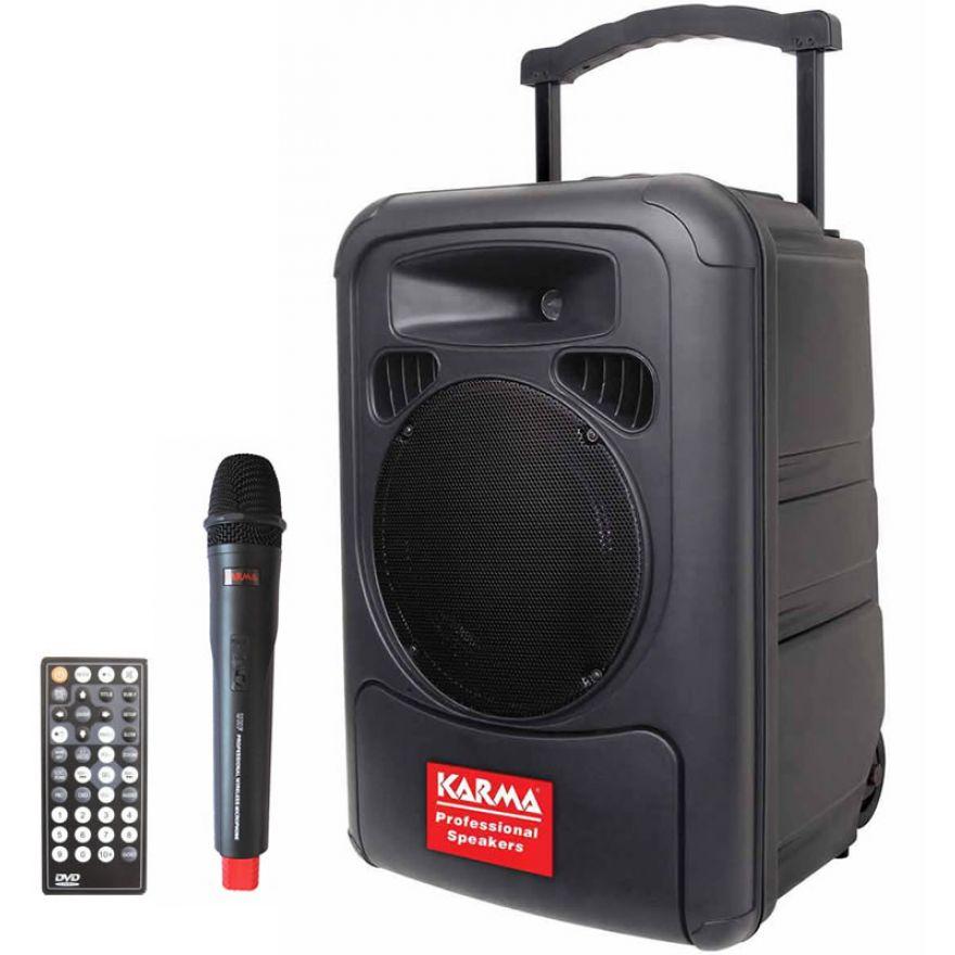 KARMA BM 891 - BOX AMPLIFICATO CON CD E RADIOMICROFONO
