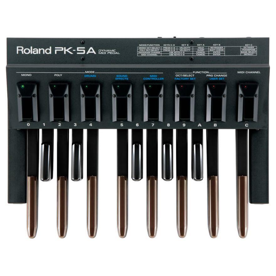 ROLAND PK5A - PEDALIERA MIDI 13 NOTE