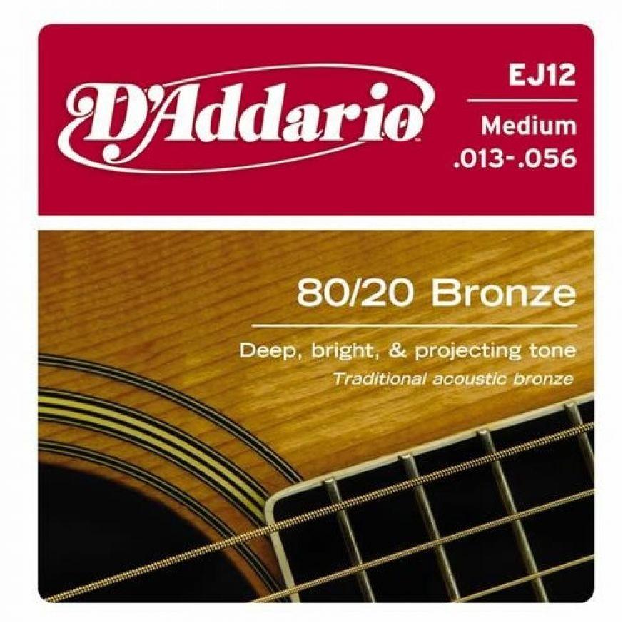 0-D'ADDARIO EJ12 80/20 - MU