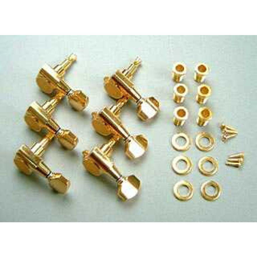 Ibanez Meccaniche per elettriche con chiavi in linea - dorato