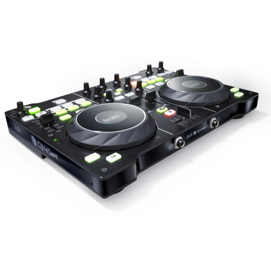 HERCULES DJ 4 SET - CONTROLLER DJ CON SCHEDA AUDIO INTEGRATA