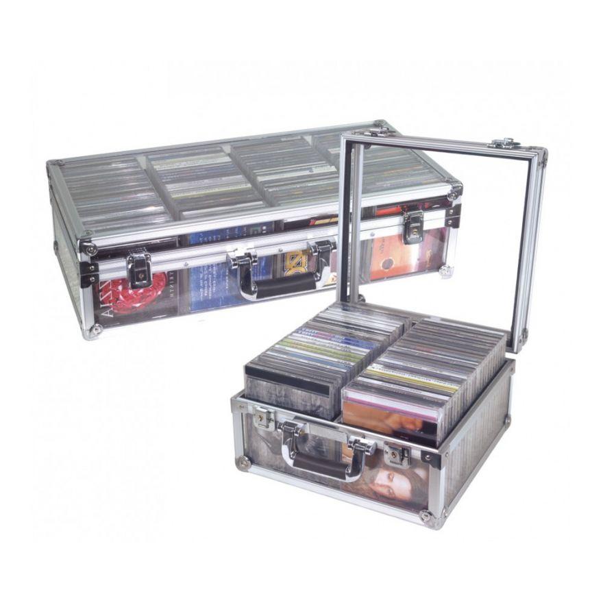 ROCKCASE RC27360PP CD perspex case per 50 CDs