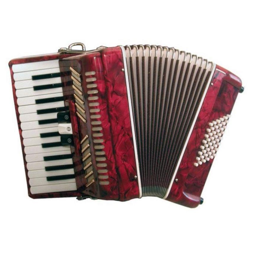 SOUNDSATION SAC-2648-RD - Fisarmonica 2 voci 26 tasti