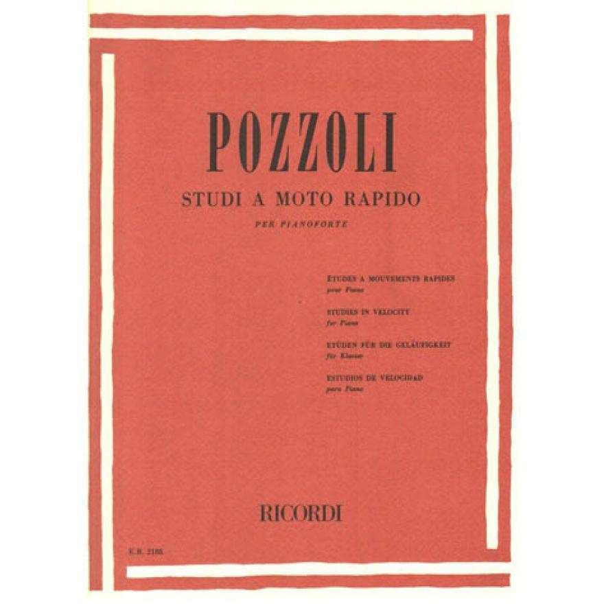 RICORDI Pozzoli, Ettore - STUDI A MOTO RAPIDO