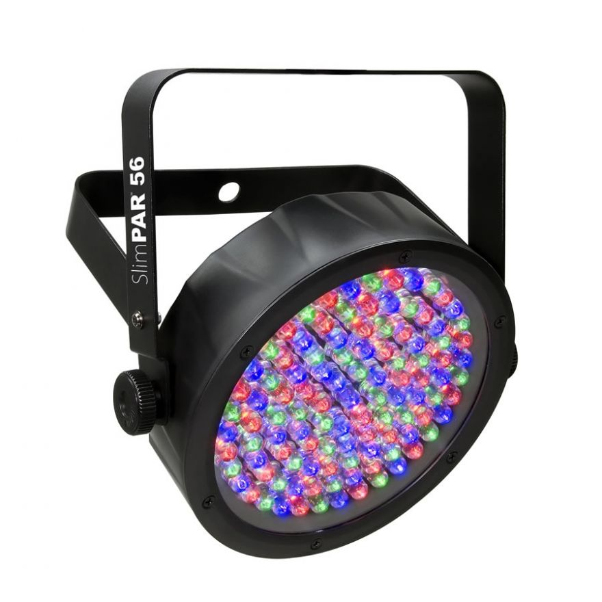 CHAUVET DJ SLIMPAR 56 BLACK - SLIMPAR A LED