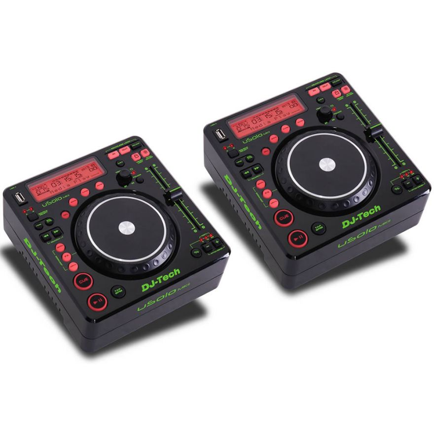 DJ TECH (coppia) USOLO MKII - Media player per dj USB/MP3