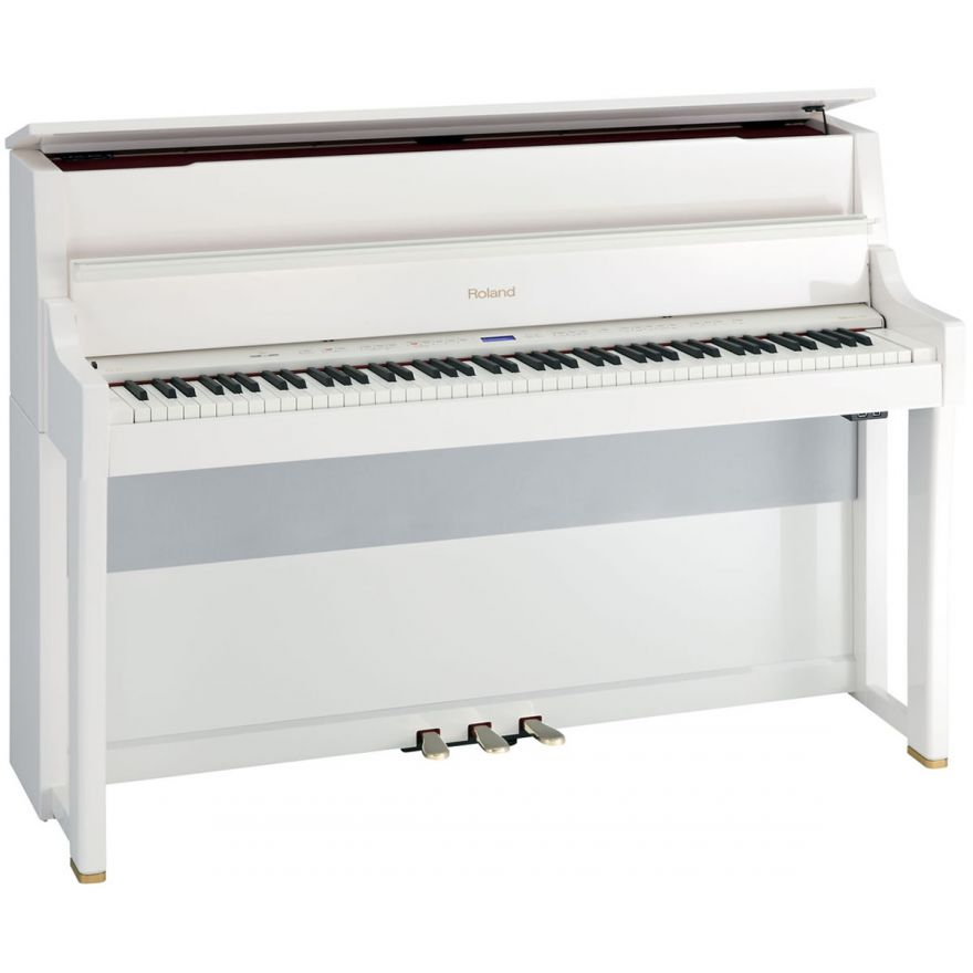 ROLAND LX15 PW - PIANOFORTE VERTICALE DIGITALE 88 TASTI