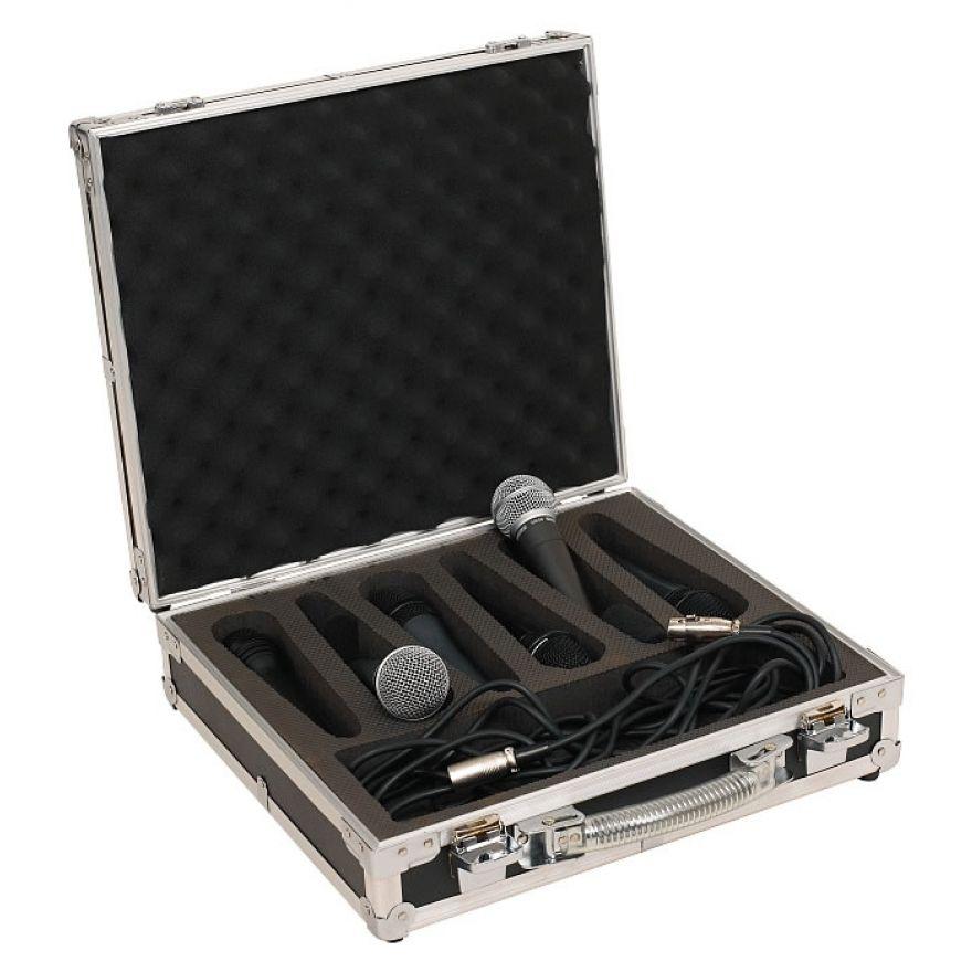 ROCKCASE RC23206B Case portamicrofoni per 6 microfoni